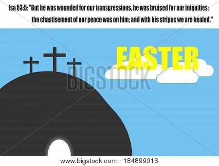 Easter concept. Vector illustration. Eps 10. image