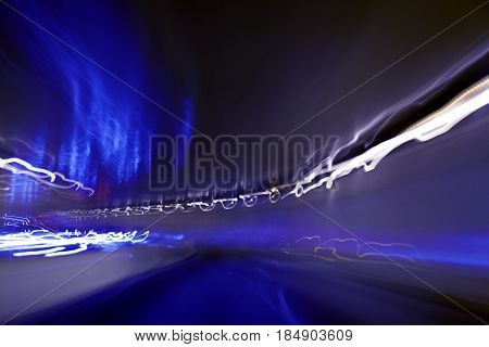 Moving Through A Tunnel