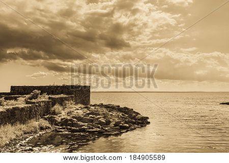 Fort Christiansoe Island Bornholm Denmark