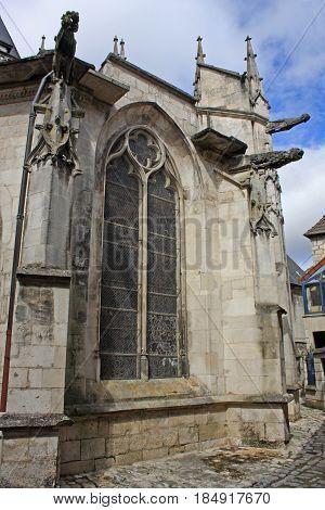 basilica of St. John the Baptist, Chaumont, France