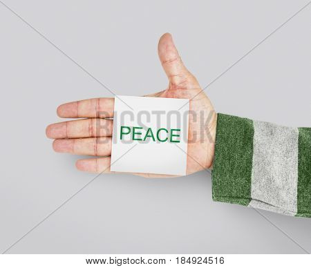 Peace Environment Ecology Responsibility Nature Word