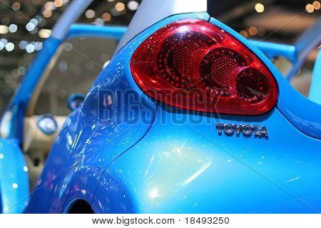 Toyota Aygo. Shallow DOF.