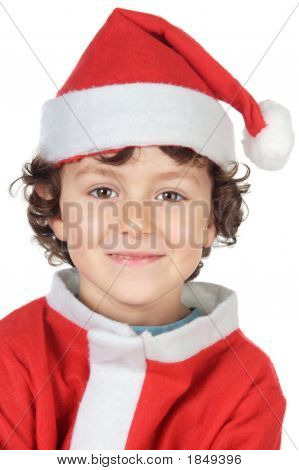 Adorable Small Santa