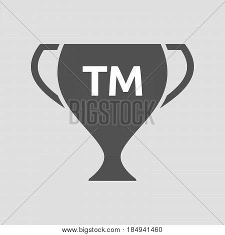 Isolated Cup With    The Text Tm