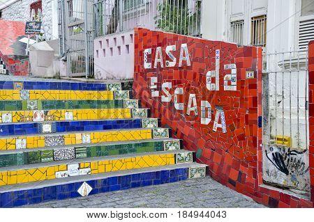 The Staircase Selaron