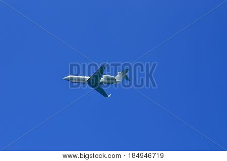 air Force parade in the sky of Israel Airplane reconnaissance