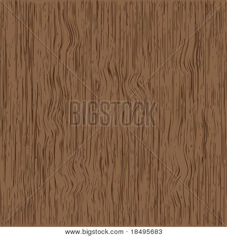 Vector - Realistic wood grain background. Color and size can be changed.