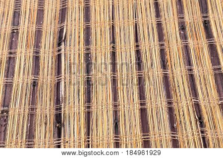Bamboo Rustic Placemat Inspired On Indigenous Textures
