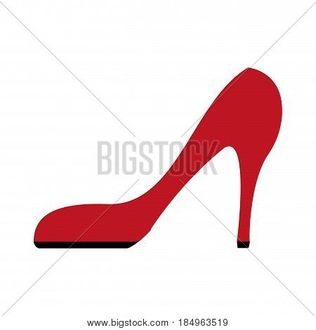 stiletto heel icon image vector illustration design