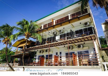 Luxury Hotel On The Beach In El Nido, Philippines