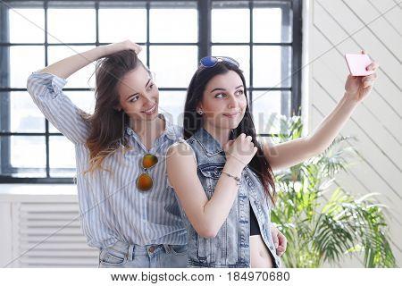 Women, friendship. Best friends forever