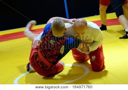 Polish National Wrestling League Training