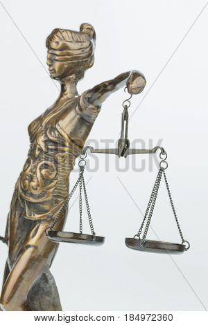 sculpture of justice