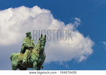 Garibaldi Monument In Milan