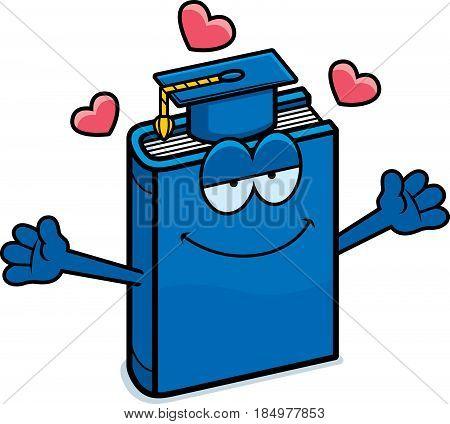 Cartoon Textbook Hug