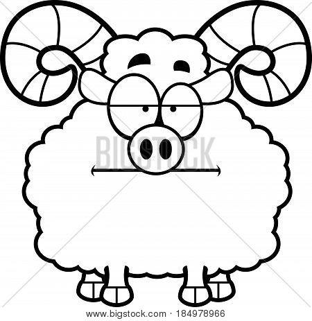 Bored Cartoon Ram