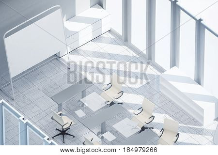 Modern Meeting Room Top