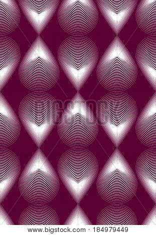 Vector bright stripy endless pattern art continuous geometric background with graphic lines.