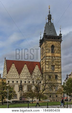 New Town Hall - The Second Oldest City Hall In Prague