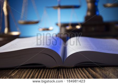 Lawyer, counselor office. Consultation with a lawyer concept.