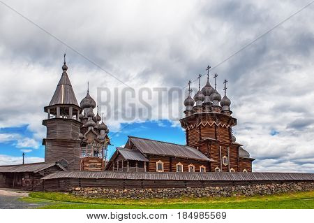 The Church of the Transfiguration on Kizhi island