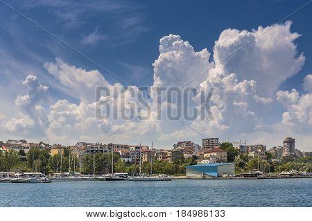 Tomis Touristic Port, Constanta, Romania