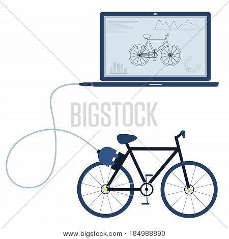 Bike Automation Using Laptop