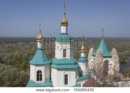 Church Of The St Nicolas In Sviatohirsk Lavra