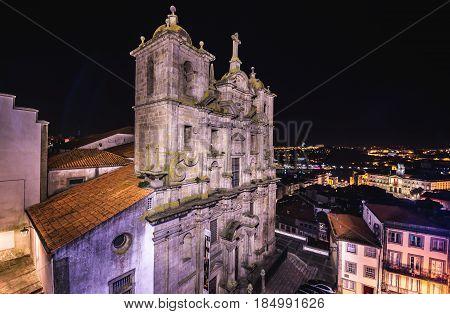 So called Church of Cricket's (Grilos) in Porto Portugal
