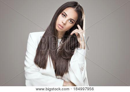 Elegant African American Woman