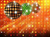 Disco balls poster