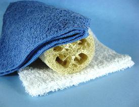 Washcloth  And Loofah