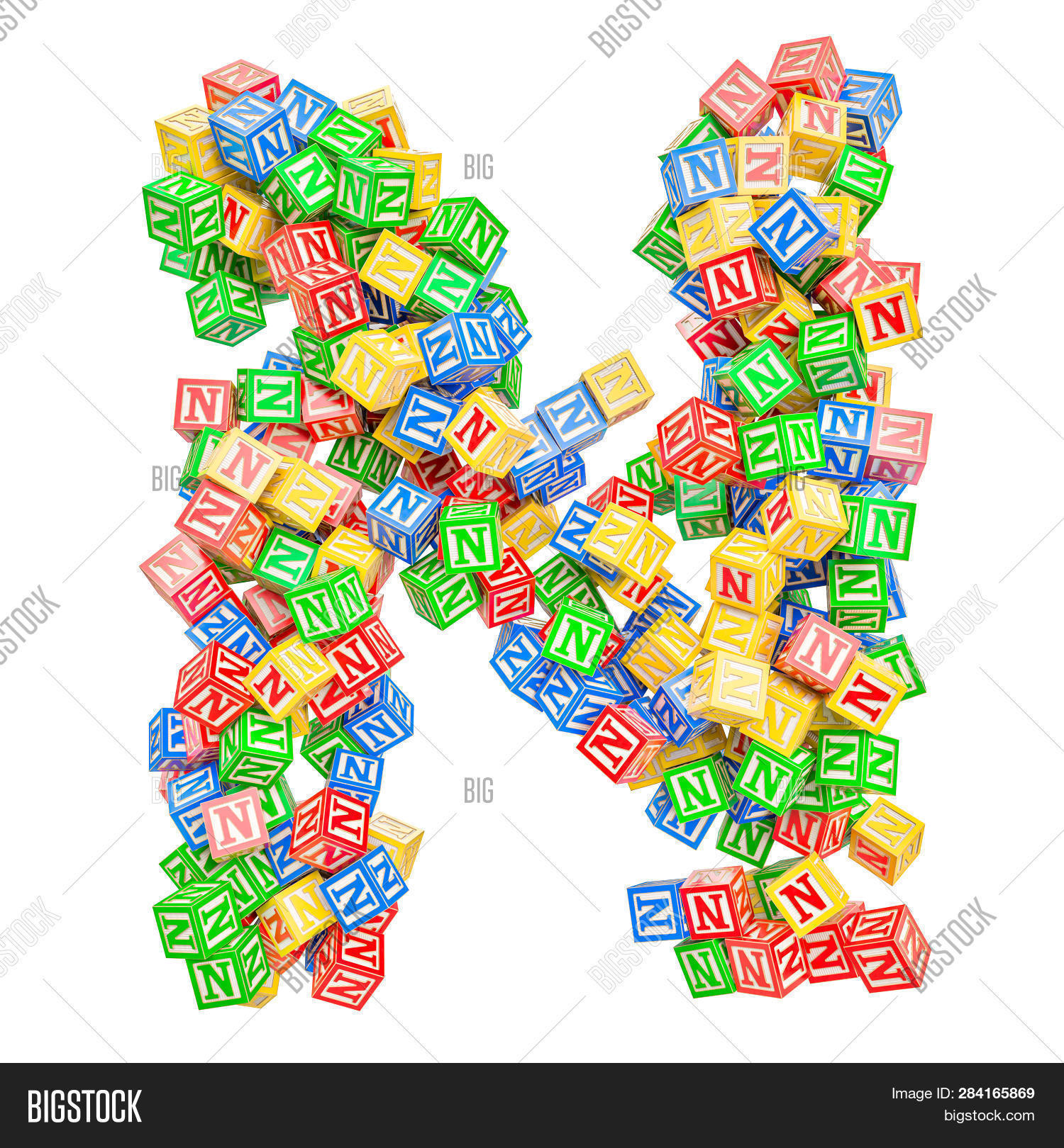 Letter N, Abc Alphabet Image & Photo (Free Trial) | Bigstock