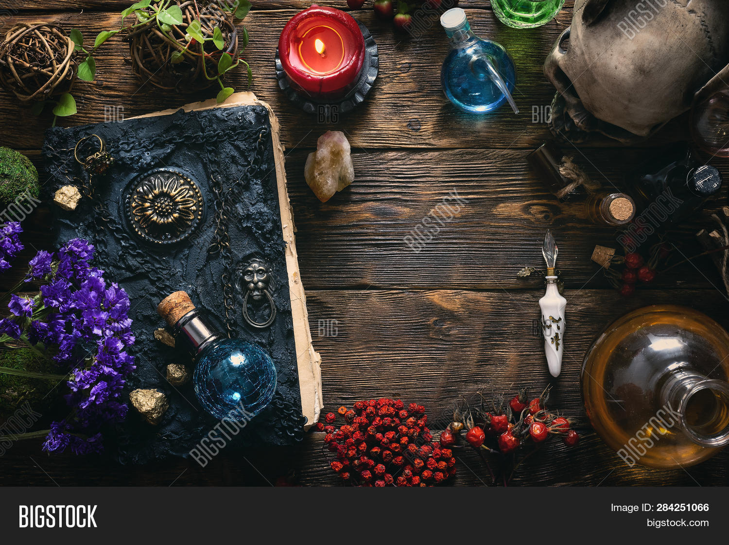 Spell Book, Magic Image & Photo (Free Trial) | Bigstock