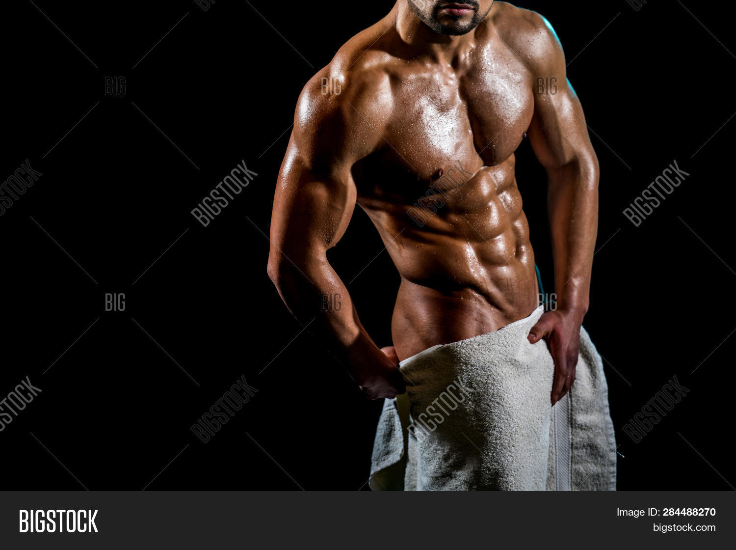 Sexy Towel On Naked Image & Photo (Free Trial)   Bigstock