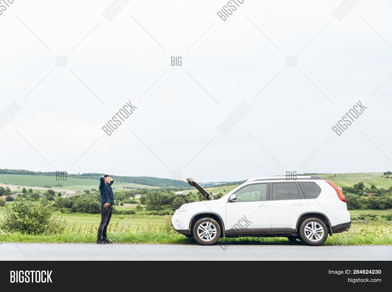 Angry Man Roadside Image & Photo (Free Trial) | Bigstock