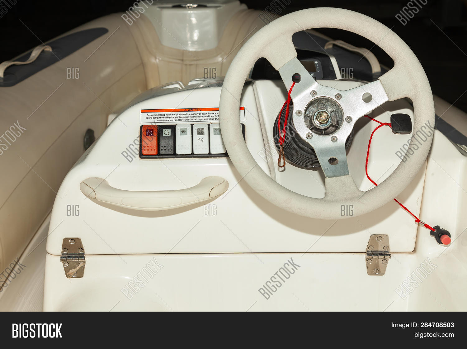Close- View Steering Image & Photo (Free Trial) | Bigstock