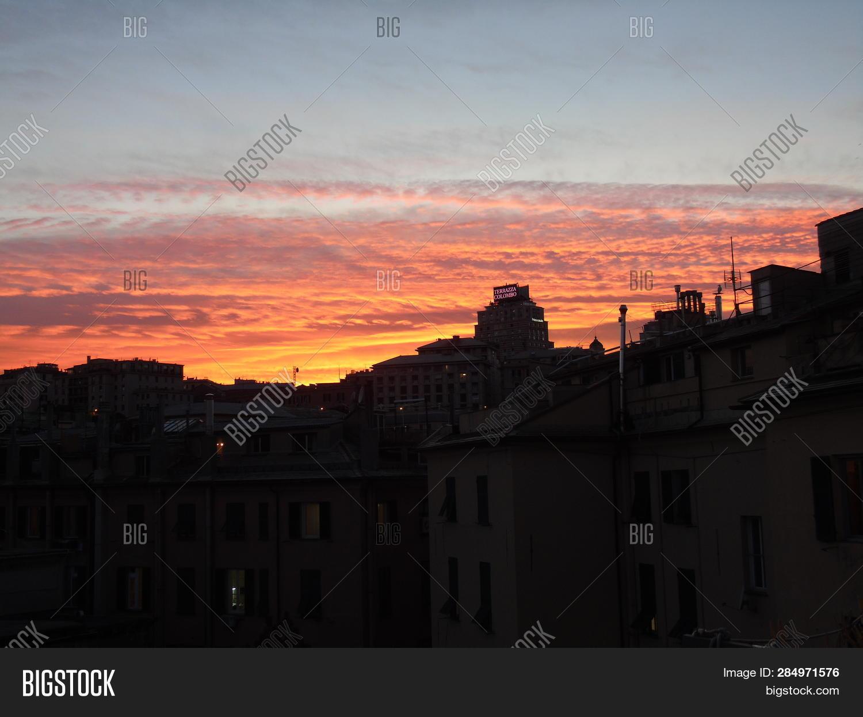 Genova Italy 02 12 Image Photo Free Trial Bigstock
