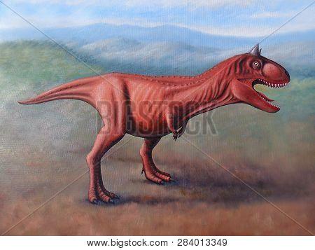 Carnotaurus Sastrei, Evil Dinosaur Wants To Eat Somebody