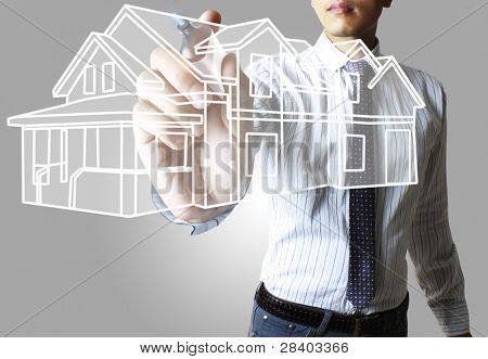 house ,hands
