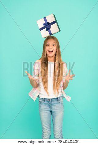 Unexpected Bonus. Birthday Wish List. Happiness And Joy. Happy Birthday Concept. Pleasant Surprise.