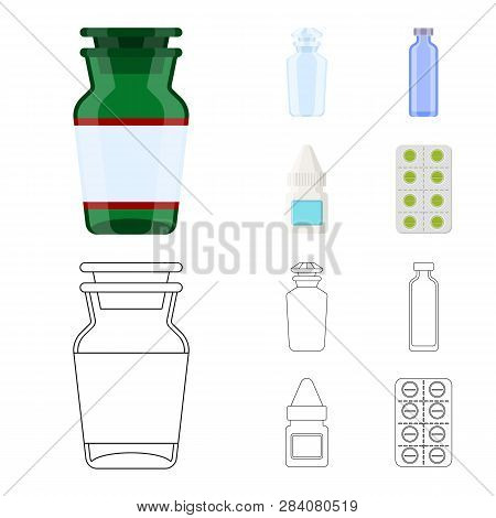 Vector Design Of Retail And Healthcare Symbol. Collection Of Retail And Wellness Stock Vector Illust
