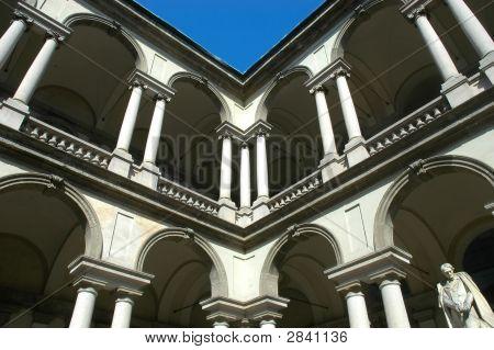 Columns And Sculpture