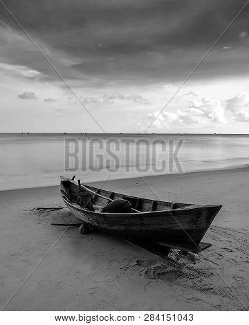 Blackwhite Photo Panorma Of Batam Bintan Wonderful Indonesia