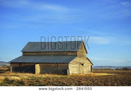 Old Rustic Idaho Barn