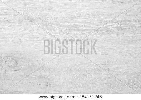 Soft White Wood Surface Background. Wood Texture Or White Wood Background. Wood For Interior, Exteri