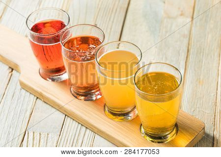 Refreshing Hard Cider Flight