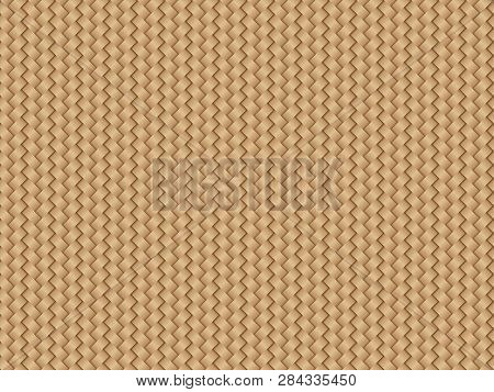 Wickerwork Pattern Background, Vector Illustration Graphic Material