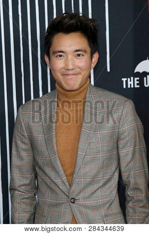 LOS ANGELES - FEB 12:  Justin Min at the