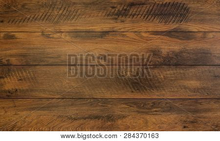 Vintage Reclaimed Oak, Gnarls In Wood With Patterns - High Quality Texture / Background